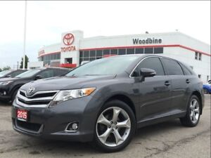 2015 Toyota Venza XLE+V6+AWD+Leather SEATS+NAVIGATION+PAN-ROOF+M