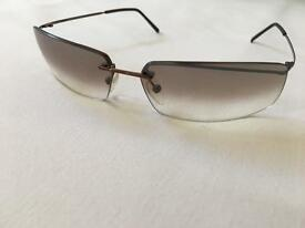 POLICE POLARISED SUN GLASSES (NEW/LBROWN)