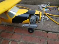 Unfinished project RC aeroplane