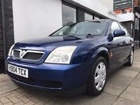 Vauxhall Vectra 1.8 i 16v LS 5dr PARTS & LABOUR WARRANTY