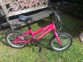 16 inch Girls Bike - Ridgeback Melody