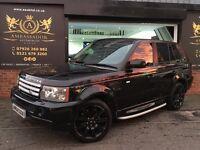 2007 Land Rover Range Rover Sport 2.7 TD V6 HSE 5dr HAWKE BLACK EDITION CONVERSION