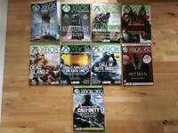 Collection of Xbox Official Magazines