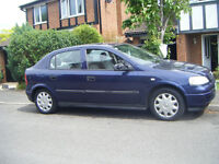 Vauxhall Astra 1.6 8v 5 door hatchback,2 owners,owned since 2003,long mot,taxed,insured,a1 daily use