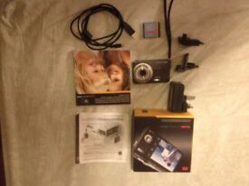 Kodak camera boxed with accessories