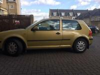 VW golf petrol 1.4 manual