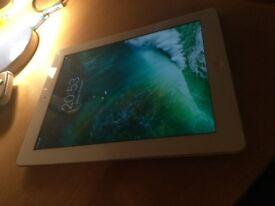 Apple Ipad 4th Gen 32GB Cellular + Wifi White Tablet