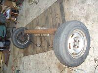 Trailor axle