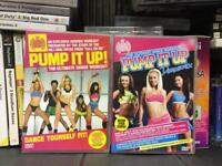 Rare 2x PUMP IT UP MOS Ministry of Sound Fitness Exercise DVD's ultimate dance workout SDHC