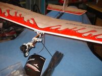 New Beginner/Trainer RC Plane + TX / RX + Lipo charger and other parts inc