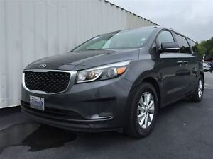 2015 Kia Sedona LX, 8 Passenger, Loaded, Platinum Graphite