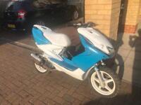 Yamaha aerox 70cc reg as 50cc moped scooter vespa honda piaggio