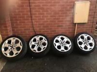 Ford 235/40/18 alloy wheels