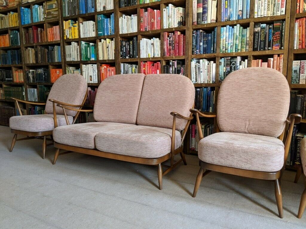 Strange Ercol Suite Free Delivery Replacement Upholstery Foam Webbing By Ercol 1950S Golden Dawn Gplanera In Brighton East Sussex Gumtree Home Interior And Landscaping Ponolsignezvosmurscom