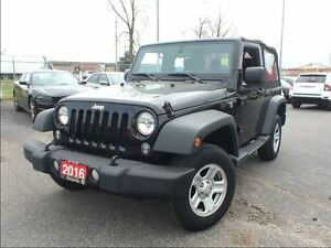 2016 Jeep Wrangler SPORT**BLUETOOTH**AUTOMATIC**AIR CONDITIONING