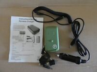Dynamo emergency pull charger for phones etc