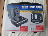 New unused Power Craft 7 piece diamond core drill set.