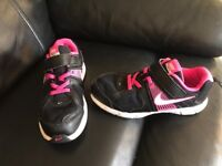 Girl's Nike trainers, size 2, smoke & pet free home, collection from Kingsteignton, £2