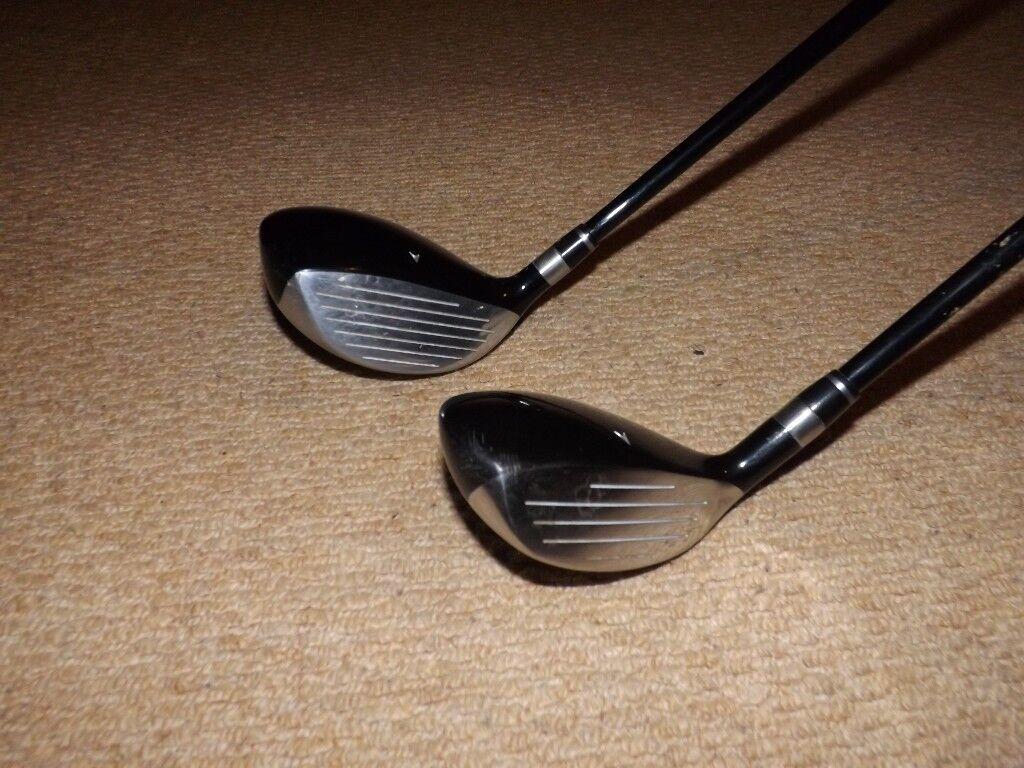Golf clubs: Ben Sayers M7 5 wood & 4 hybrid (fairway set)