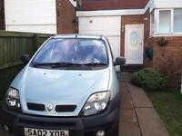 Renault scenic rx4 no mot sold as seen