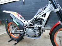 montesa 4rt with 300cc conversion fitted