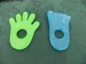Hand And Foot Gel Teethers Both For £1.00