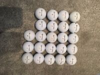 23 x TaylorMade Pro Golf Balls - A Grade Condition!