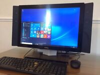 DELL XPS All in One Windows 10 PC / WiFi / WebCam / Speakers / DVD RW / Office / Desktop PC Computer