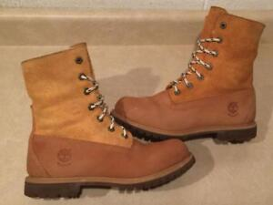 Women's Size 7.5 Timberland Waterproof Leather Insulated Boots