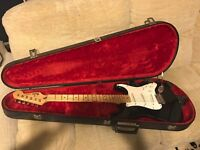 FENDER STRATOCASTER 1995 AGED MEXICAN PX CASH EITHER WAY FOR A FENDER TELECASTER