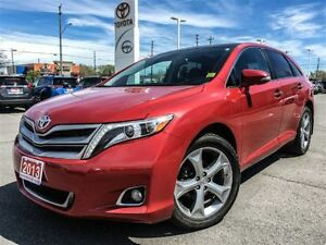 2013 Toyota Venza V6 AWD LEATHER+NAVIGATION!