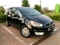 Ford Galaxy TDCI Durashift Automatic 7 seats with privacy glass and long M.O.T