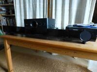 Yamaha Sound Bar & Subwoofer YAS 101 & separate Subwoofer