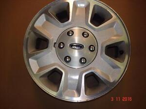 "2014 - Ford F-150 Alum. OEM 17""x 6 bolt x 6 spoke rims , no tires"