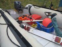 Yamaha Inflatable RIB 430 (4.3m), with Trailer and Yamaha 20hp Outboard