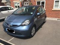 Toyota Aygo Blue. LOW MILEAGE! FULL 12 MONTH MOT! Excellent condition! 08 Plate.