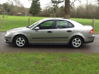 SAAB 9-3 1.9 TID DIESEL 2005 1 OWNER SINCE 2007-LONG MOT ALLOYS AIR CON CD-WE CAN DELIVER TO YOU