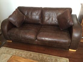 John Lewis 3 Seater Vintage Sofa Excellent Condition