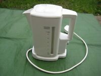 Morphy Richards White Automatic Electric Kettle - Model 43050 for £8.00