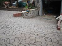 Driveways...patios ...-high standard ...