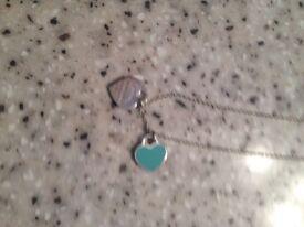 Genuine Tiffany silver necklace