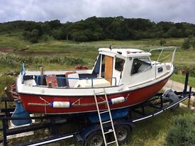Boat / trusty 21 fishing boat