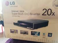 External dvd rewriter