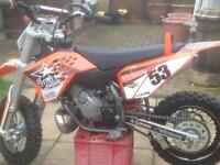 Ktm 50cc motocross bike