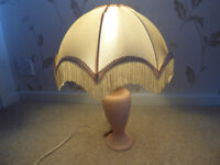 Table Lamp complete with shade