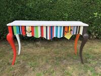 Paul Smith style/ Shabby chic console table