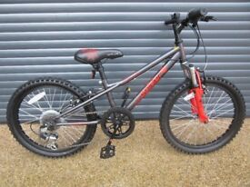 APOLLO SPIDER FRONT SUSPENSION BIKE IN IMACULATE NEW CONDITION.. (SUIT APPROX. AGE. 6 / 7+)