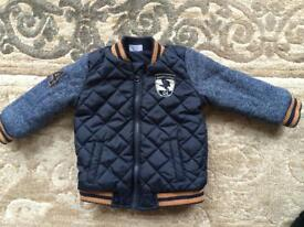 Winter boys jacket 9-12 months