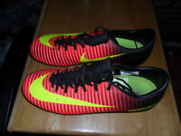 Nike Mercurial Football Boots Size 7.5UK