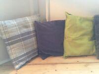 Cushions - New/barely used (smoke/pet free)